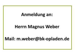 Mein Start_Mail Magnus Weber