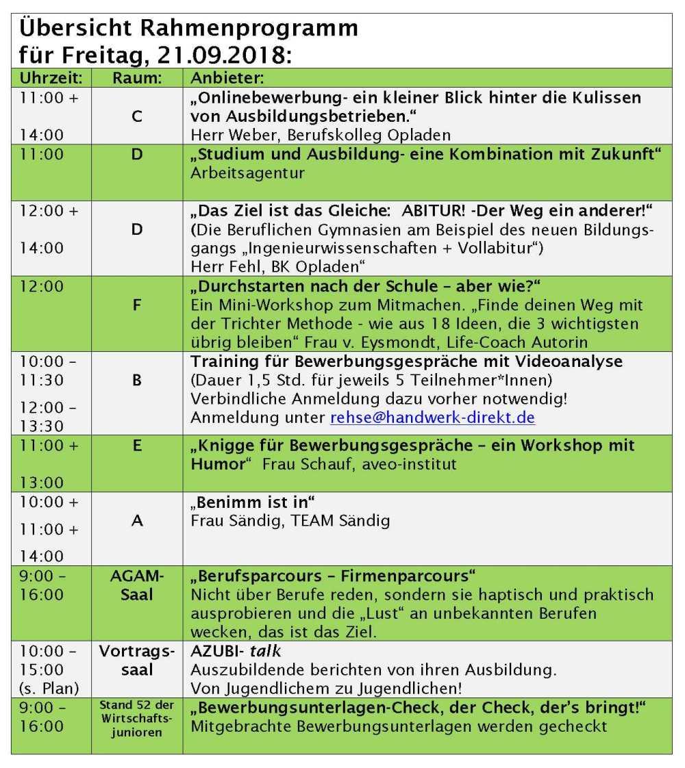 Rahmenprogramm Freitag_2018