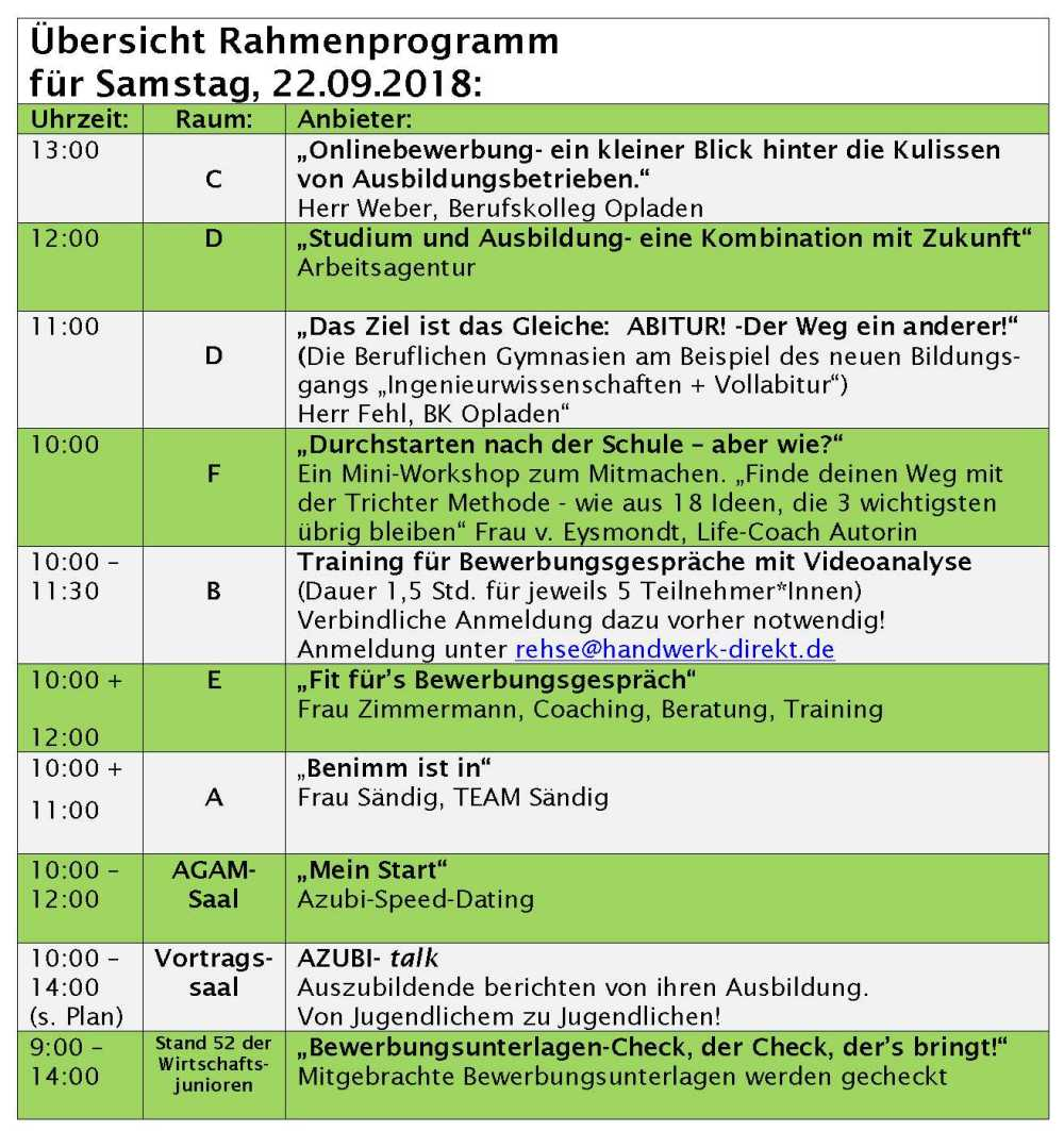 Rahmenprogramm Samstag_2018